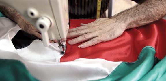 Palestinian flag Photo: Reuters
